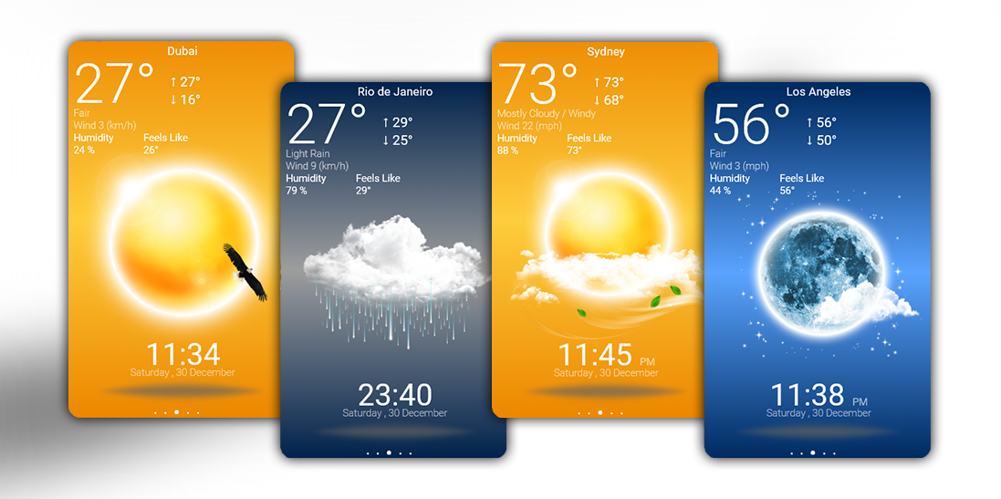 Beautiful Weather App by HipHopium on DeviantArt