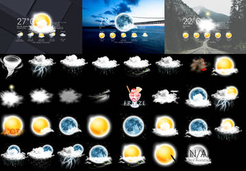 Realistic Weather Forecast 5  by HipHopium