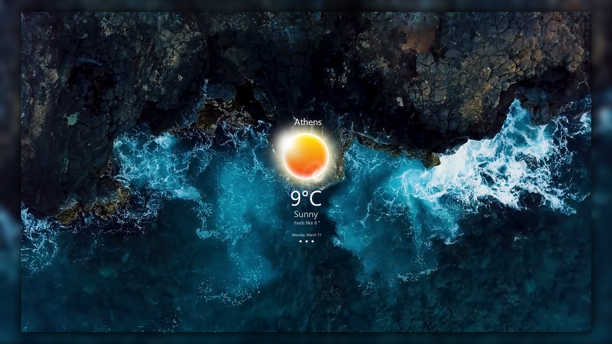 Elegant Weather For RainWallpaper (Live-Wallpaper) by HipHopium