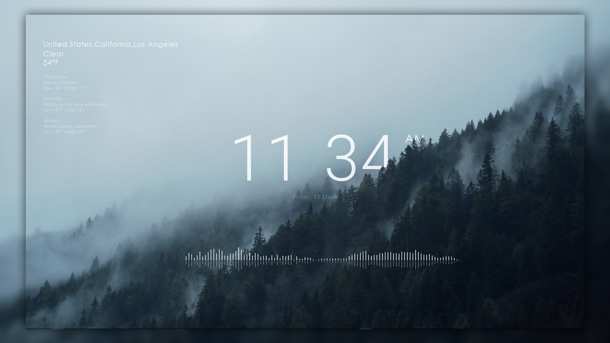 Mistimax For RainWallpaper by HipHopium