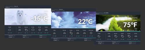 Weather Widget [extended]