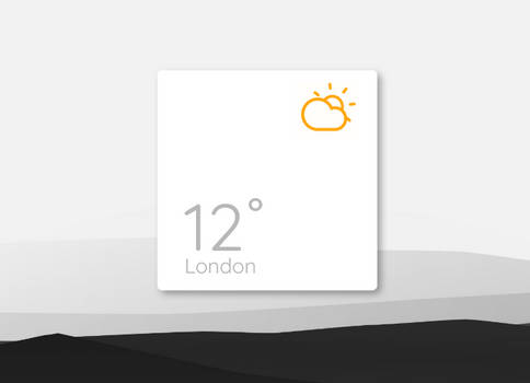 Simple Animated Weather
