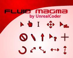 Fluid Magma Cursor Theme