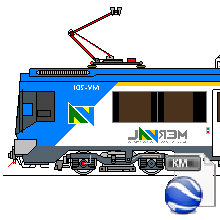 Metro Regional de Valparaiso (MERVAL) I by EarthFerrocarrilesCh