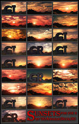Sunset pack for Vue 6