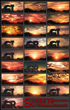 Sunset pack for Vue 6