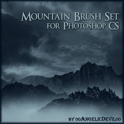 Mountain brush set for PS CS