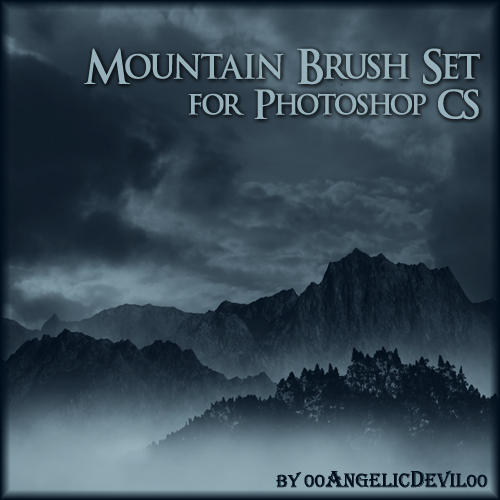 Mountain brush set for PS CS by 00AngelicDevil00