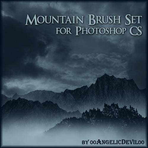 http://fc09.deviantart.net/fs36/i/2008/255/8/d/Mountain_brush_set_for_PS_CS_by_00AngelicDevil00.jpg