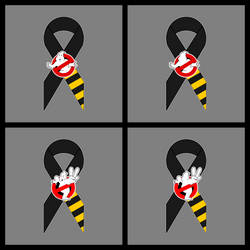 GB Tribute Ribbon - GB 1 and 2 Flat Vector