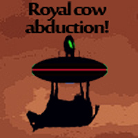 Royal cow abduction! by LordHannu