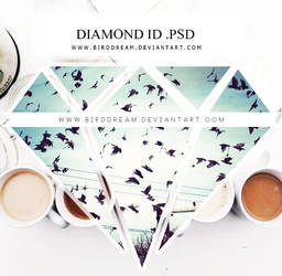 Id diamond .psd by BirdDream