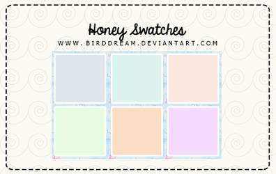 Honey Swatches .aco by BirdDream