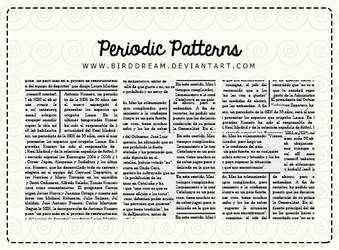 Periodic patterns. by BirdDream