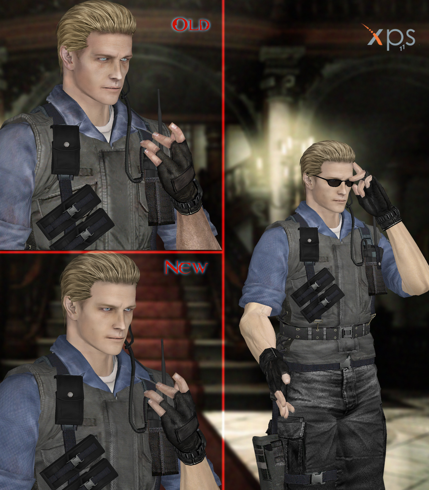 Wesker STARS young by PaleVirus