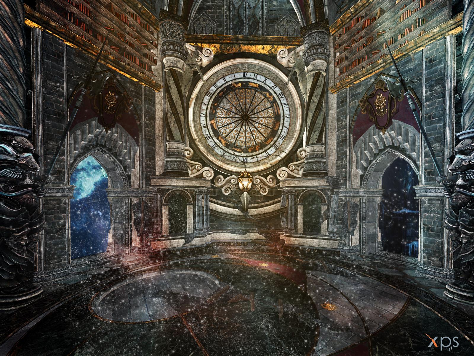 Towermech Clock by PaleVirus