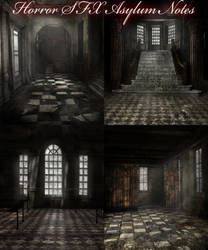 Horror SFX Asylum Notes by PaleVirus