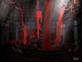 Bloodrayne2  throneroom by PaleVirus