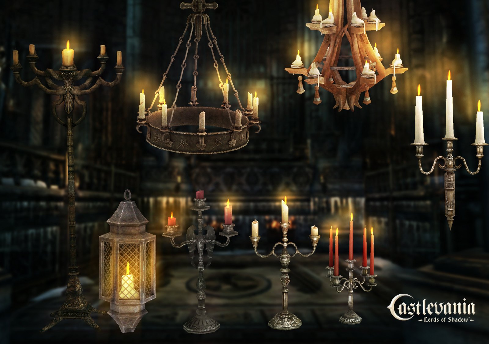 Candle pack 2 by PaleVirus