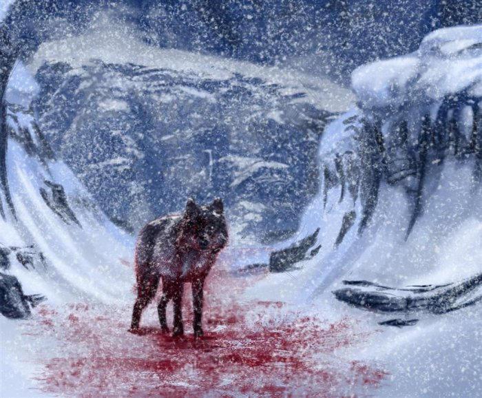 The Blood Wolf Ch2 by HellHoundAzulike