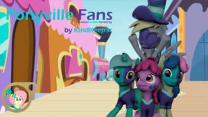 (DL) Ponyville Fans