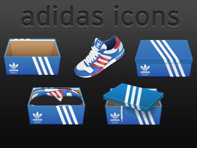 Adidas icon set
