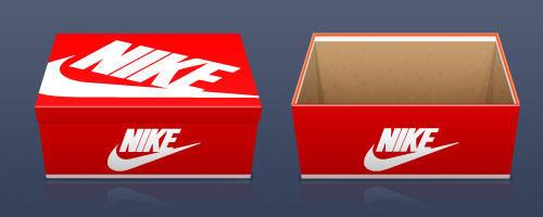 Nike Shoe Box Weight