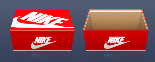 Nike Shoe Box Table