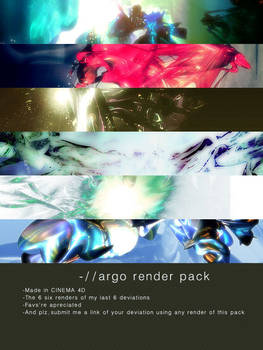 Abstract 3d pack -by argo-