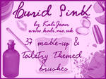 Lurid Pink: Toiletry Brushes