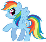 Vector Rainbow Dash