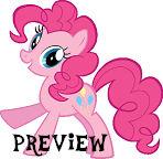 Pinkie Pie Vector