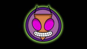 Invader Zim face logo thingy