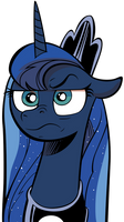 (MLP #17) Luna Is Not Amused