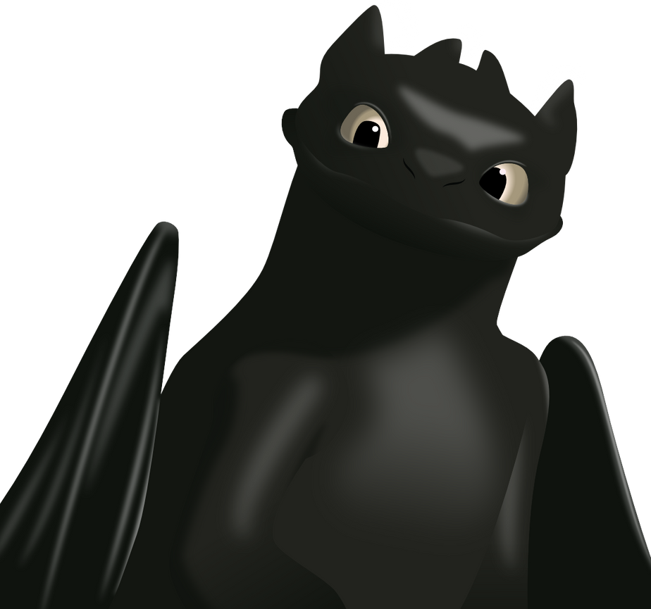 Toothless Stading by mattyhex