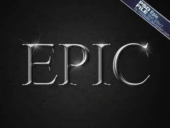 PSD Epic Text Effect by mostpato