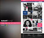 Psd Elegant Mag - Web Theme File