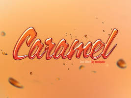 Psd Caramel - Text Effect by mostpato