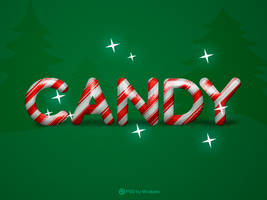PSD Candy - Text Effect by mostpato