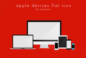 Apple Devices flat Icon - Free by mostpato