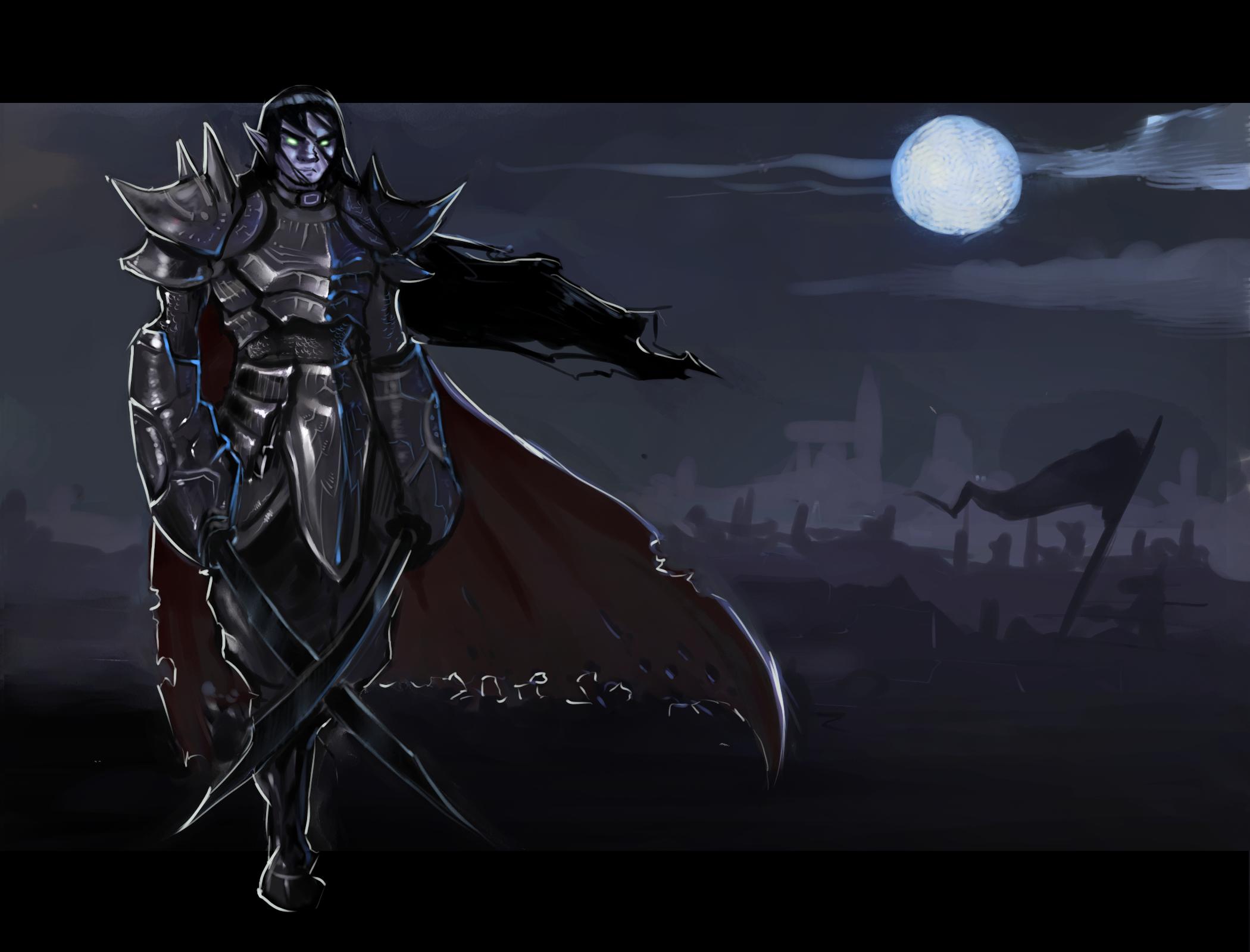 Knight (contest entry) by Gjergji-zhuka