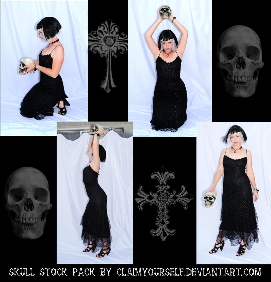 Skull Stock Pack by ClaimYourself
