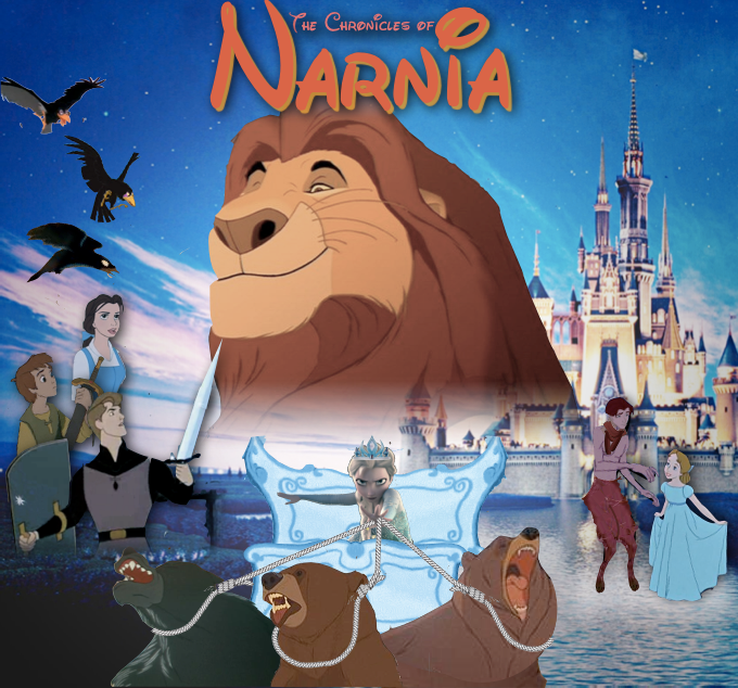 Crossovers King And Queen: Disney Narnia By M-Mannering On DeviantArt