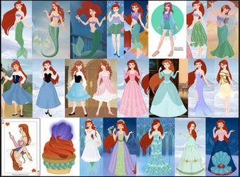 Ariel Collage by M-Mannering
