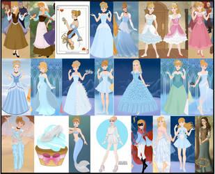 Cinderella Collage by M-Mannering