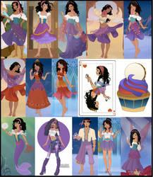 Esmeralda Collage