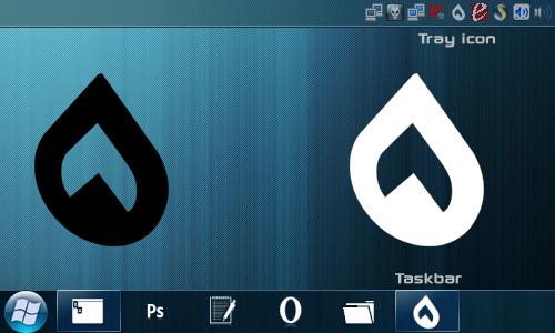 ApexDC black white png ico by slawekebi