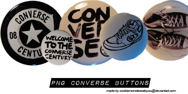 281e89d6d0ff Converse Buttons PNG by Cookiemonstereatsyou on DeviantArt
