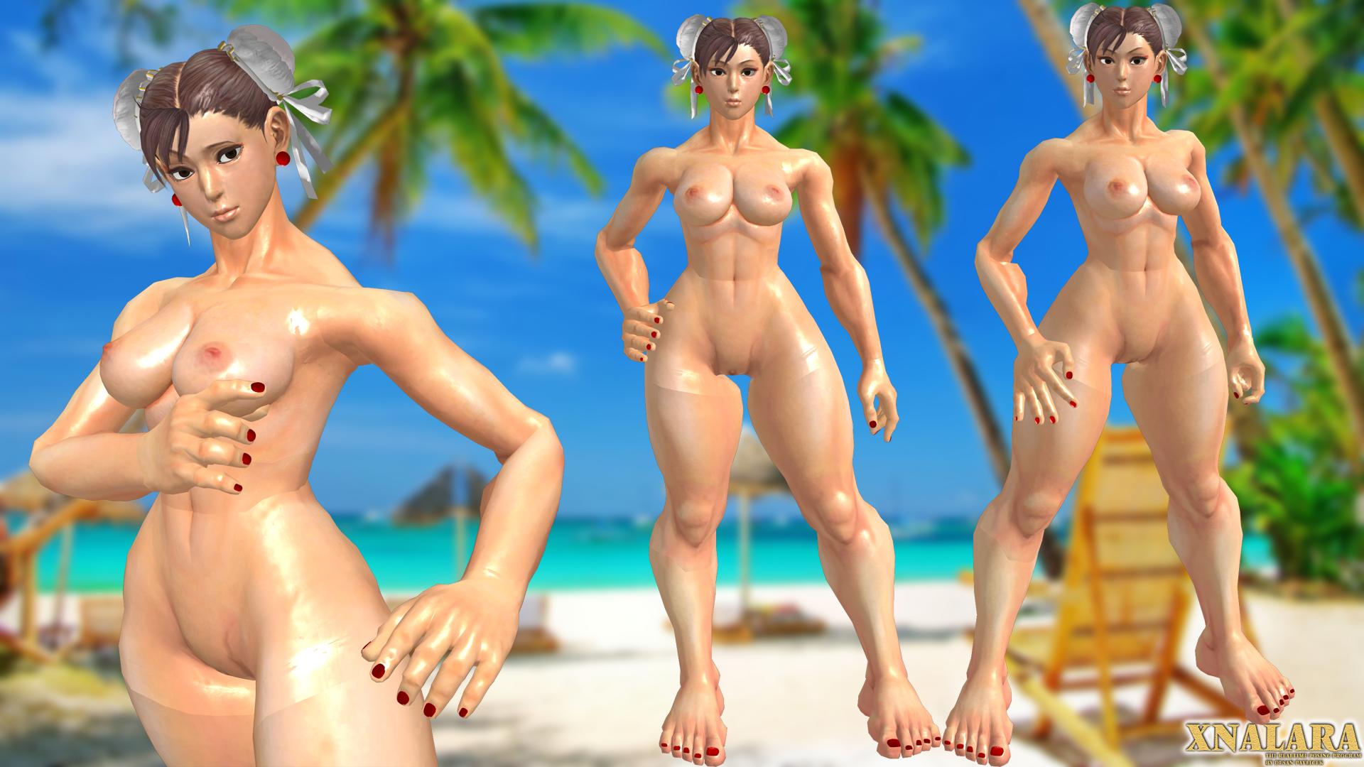 Yeah chunli naked