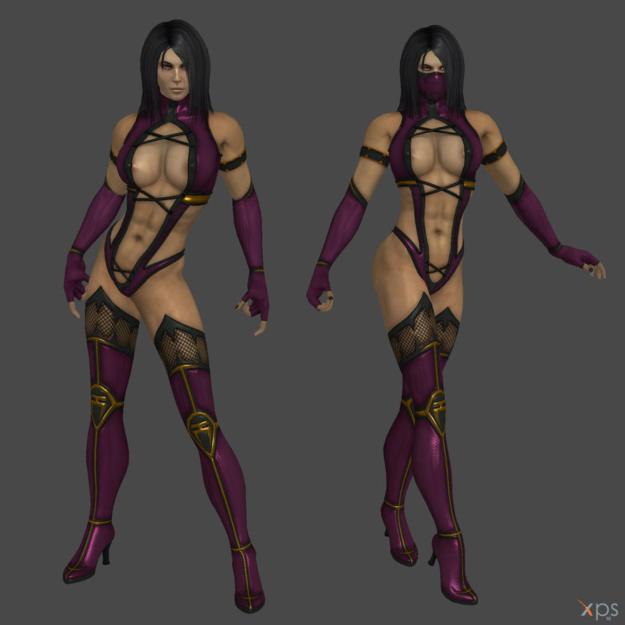 Mileena fully naked glitch exploited clips